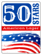 """50 Stars"" Fourth of July Beer Bottle Labels"