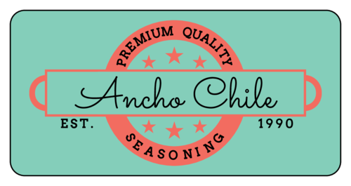 Retro Seasoning Bottle Label pre-designed label template for OL125