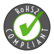 """RoHS2 Compliant"" Circle Label"