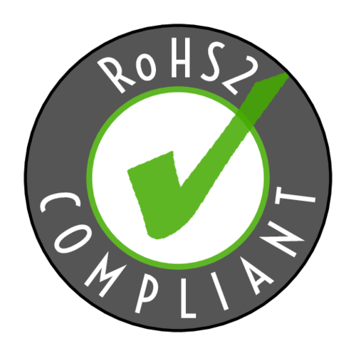 "OL2088 - 1.5"" Circle - ""RoHS2 Compliant"" Circle Label"
