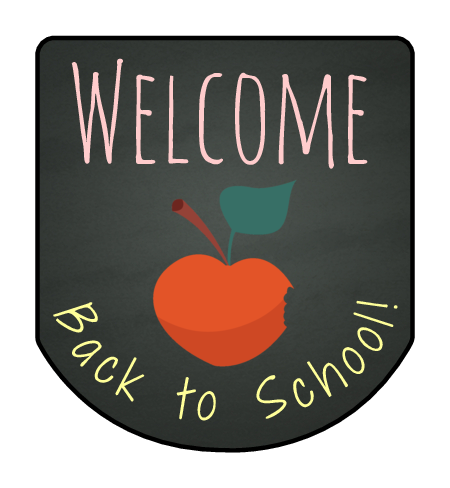 Back to School Hand Sanitizer Labels pre-designed label template for OL3344