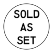 """Sold as Set"" Labels"