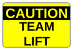 Team Lift Labels