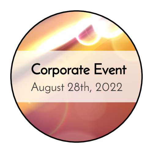 "OL2088 - 1.5"" Circle - Bokeh Corporate Event Circle Labels"