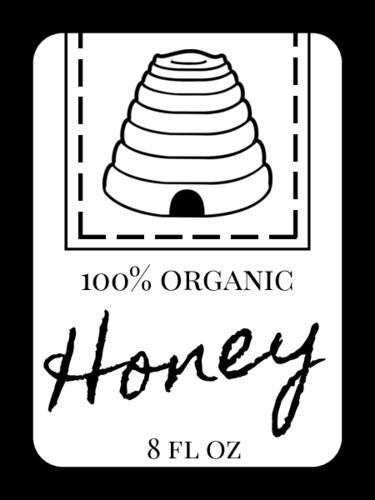 "OL1905 - 1.75"" x 1.25"" - Beehive Honey Bottle Labels"