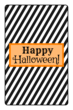 Striped Halloween Candy Bar Labels