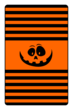 Jack-o'-Lantern Candy Labels