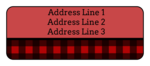 Plaid Address Labels
