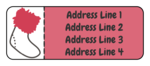 Stocking Address Labels