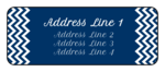 Happy Hanukkah Address Labels