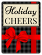 """Holiday Cheers"" Beer Bottle Labels"