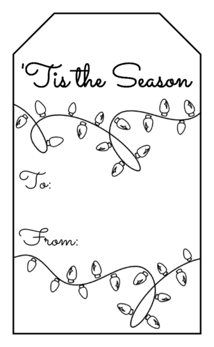 gift labels templates download gift tags label designs