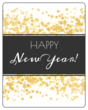 """Happy New Year!"" Wine Bottle Labels"