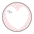 Valentine's Day Gift Tag Labels