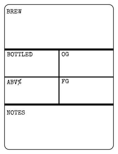 "OL500 - 4"" x 3"" - Write-In Beer Bottle Labels"