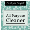 DIY All Purpose Cleaner Labels