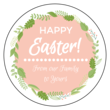 Florid Easter Circle Labels