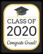 """""""Congrats Grad!"""" Bottle Labels"""