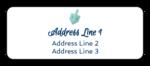 Dreidel Address Labels