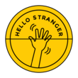 """Hello Stranger"" Envelope Seal Labels"