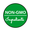 NON-GMO Ingredients Circle Label