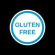 Gluten Free Circle Label