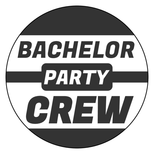 "OL2279 - 3"" Circle - ""Bachelor Party Crew"" Circle Labels"