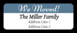 """""""We Moved"""" Return Address Labels"""