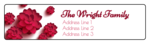 Pink Blossoms Address Labels