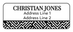 Maze Pattern Address Labels