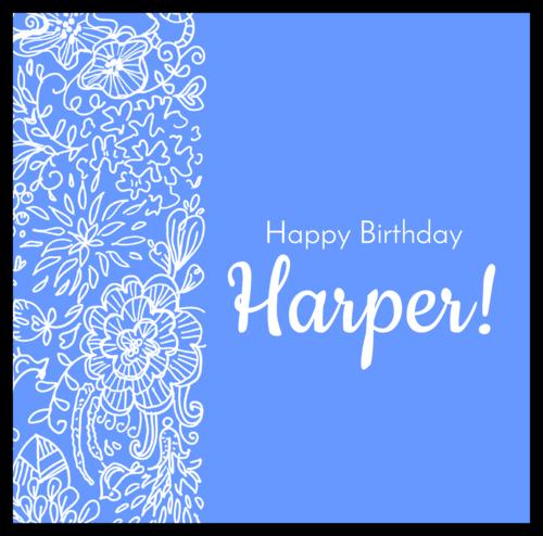 "OL685 - 5.3125"" x 5.25"" - Wrap-Around Birthday Candy Bar Labels"