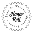 School Honor Roll Starbust Labels