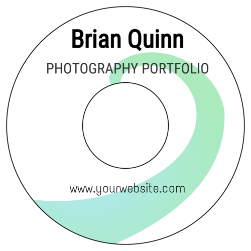 "OL1200 - 4.5"" CD - Photography Portfolio Disc Labels"