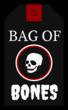 """Bag of Bones"" Halloween Cardstock Gift Tags"