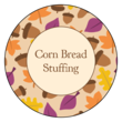 Thanksgiving Leftovers Fall Circle Labels