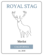 """Royal Stag"" Wine Bottle Labels"