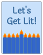 """Let\'s Get Lit!"" Hanukkah Wine Bottle Labels"