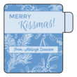 """Merry Kissmas!"" Lip Balm Labels"
