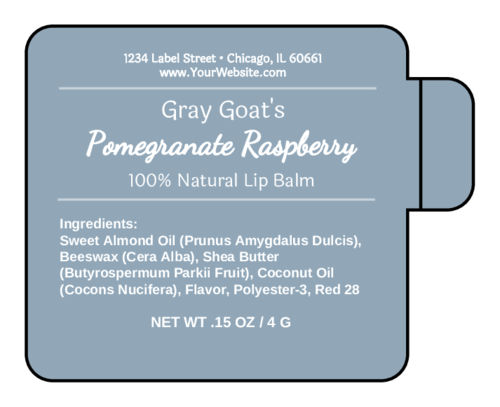 Apothecary Lip Balm Labels pre-designed label template for OL2162