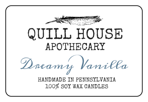 "OL6675 - 5"" x 3"" - Holistic Candle Labels"