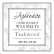 Marble Wax Melt Labels