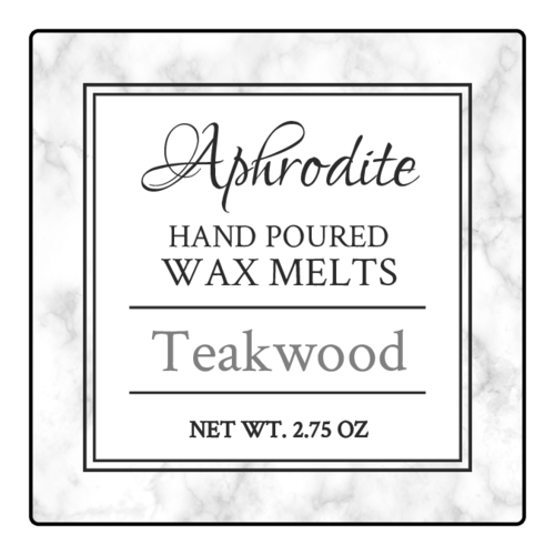 "OL2681 - 1.5"" x 1.5"" Square - Marble Wax Melt Labels"