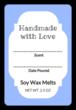 Write-in Wax Melt Labels