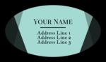 Geometric Modern Address Labels