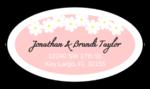 Spring Flowers Address Label