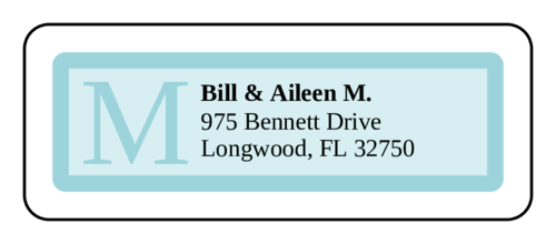 "OL875 - 2.625"" x 1"" - Chesapeake Address Labels"