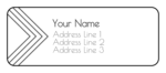 Pointed Address Labels