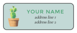 Cactus Address Labels