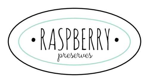 Simple Homemade Preserves Labels (Oval)