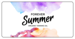 """Forever Summer"" Bath and Body Labels"